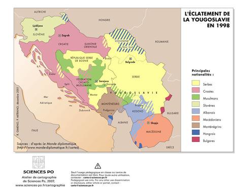 Balkans, Ex-Yougoslavies, nationalités - 1998 | Europe Centrale | Scoop.it