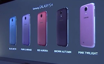 5 nouvelles couleurs pour le Galaxy S4 | INFORMATIQUE 2015 | Scoop.it