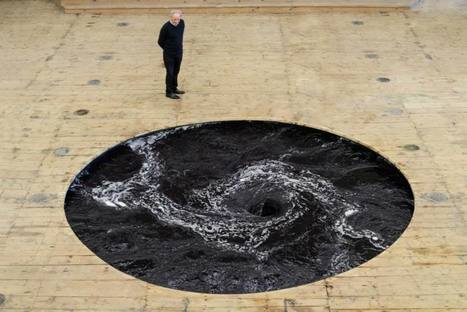 Anish Kapoor: 'Descension', Perpetual Black Water Whirlpool | Art Installations, Sculpture, Contemporary Art | Scoop.it