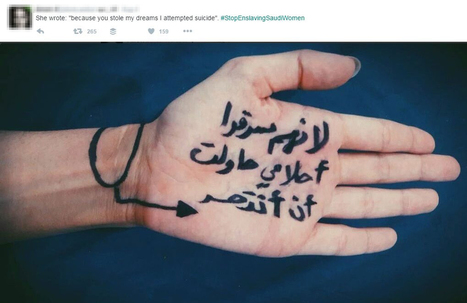 Exclusive insight from the Stop enslaving Saudi women campaign | A Voice of Our Own | Scoop.it