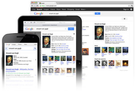 Knowledge – Inside Search – Google | Creating readers | Scoop.it