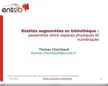 Réalités augmentées et QR codes en bibliothèque - Vagabondages | BiblioLivre | Scoop.it