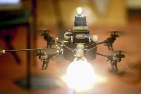Un drone pour photographe, qui éclaire dynamiquement une scène ... | TechniVue's Updates | Scoop.it