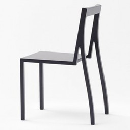 Heel chair by Nendo for Moroso | Good Design Collection | Scoop.it