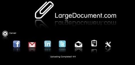 LargeDocument nos permite compartir archivos de hasta 2 gigas sin necesidad de registro | Vicens | Scoop.it
