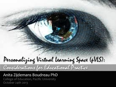 Moodle MOOC 2: Personalizing Virtual Learning Space with Dr. Anita Zijdemans Boudreau | eduMOOC 4 ALL | Scoop.it