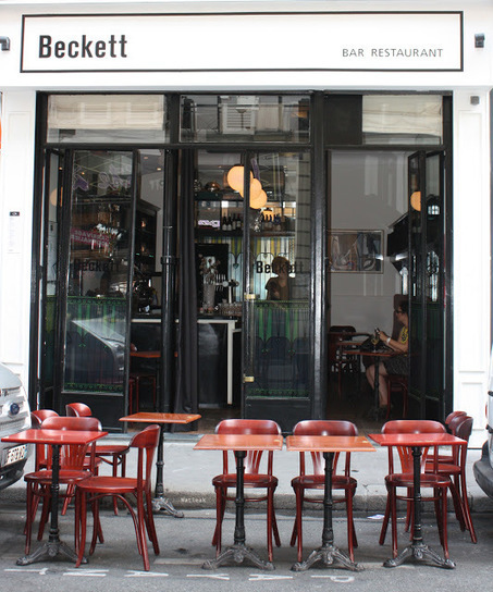 Le petit monde de Natieak: Beckett, un bar restaurant parisien très vert | Gastronomie Française 2.0 | Scoop.it