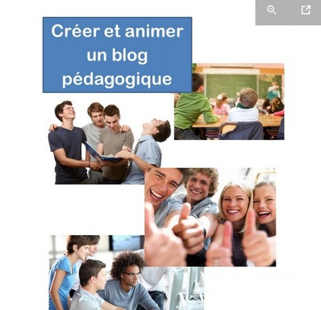 Ebook : Créer et animer un blog pédagogique | PedagoGeeks | Keep learning | Scoop.it