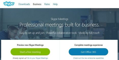 "Skype Announces Free Video Meetings With ""PowerPoint Collaboration & Screen Sharing"" 