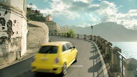 Des Fiat 500 flottent en pleine mer à Miami Beach ! - Gentside   Marketing et Automobile   Scoop.it