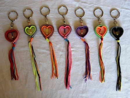 fair trade Cambodia. Heart key rings, handmade ethically by disadvantaged home based women workers. | Craftworks Cambodia. Fair trade Crafts | Scoop.it