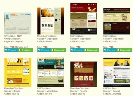 Dreamweaver Templates - High-quality web templates! | Free Tutorials in EN, FR, DE | Scoop.it