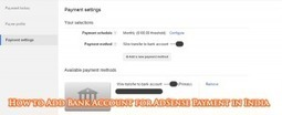 How to Add Bank Account for AdSense Payment in India   CodingCyber   Scoop.it