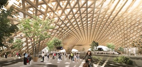 Erik Giudice Architecture Releases Proposal for Sustainable Transit Station Inspired by Matchsticks | The Architecture of the City | Scoop.it