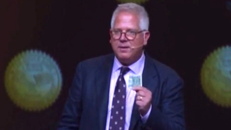 Glenn Beck: The $1 bill proves America was founded to help Israel exist | The Raw Story | political sceptic | Scoop.it