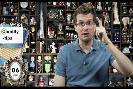 John Green Defines Every Acronym Ever*   Transcription Tips   Scoop.it