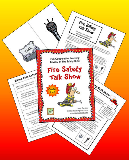Fire Safety Talk Show | Seasonal Freebies for Teachers | Scoop.it