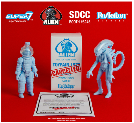 Super7 Unleashes Lost 'Alien' Toys As SDCC Exclusives | SDCC 2013 | Scoop.it
