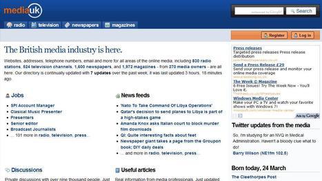Media UK | Top sites for journalists | Scoop.it