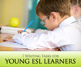 Not Too Young to Write! 7 Writing Tasks for Young ESL Learners | m.psilogeni | Scoop.it