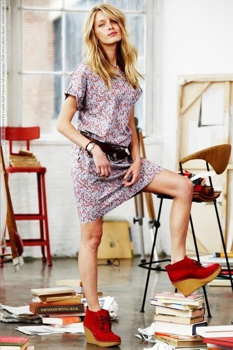 celebsvenue:<br/><br/>Valerie Avdeyeva for Lands End Canvas Ad campaign... | Fashion Spectrum | Scoop.it