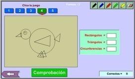 Cuenta formas - InfantilApps | Las TIC en el aula | Scoop.it
