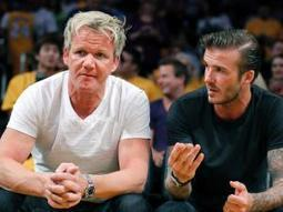 Beckham & Ramsay to compete in Ironman - IOL Tonight | IOL.co.za | Luxury, Pleasure, Places & Social | Scoop.it