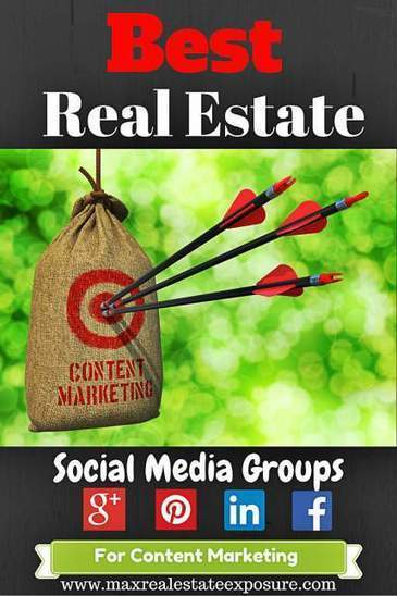 Best Social Media Groups For The Real Estate Industry | Social Media For Real Estate | Scoop.it