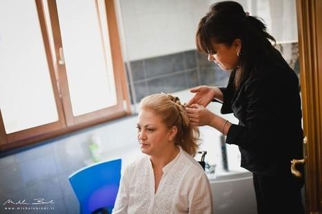 Acconciature sposa capelli raccolti Siena, Arezzo | Sam's | Acconciature e Make Up Sposa Chianciano - Siena » Sam's | Scoop.it