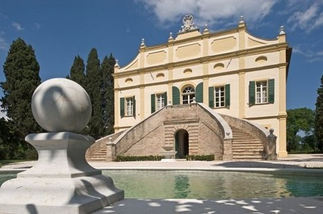 Live the history in le Marche: La Villa Rinalducci, Fano | Le Marche Properties and Accommodation | Scoop.it
