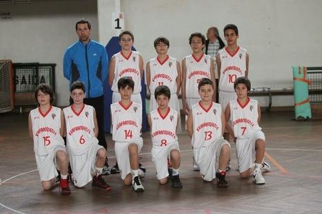 Voz Ribatejana: Basquetebol do Vilafranquense conquista título regional de sub-12   Xira News   Scoop.it