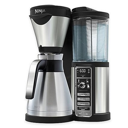 Ninja Coffee Maker, Bar Brewer Style with 4 Brew Size Options, From Single Cup to 10 Cup Stainless Steel Carafe, and 4 Brew Styles Including Hot or Iced Specialty Coffees | Online Trending | Scoop.it