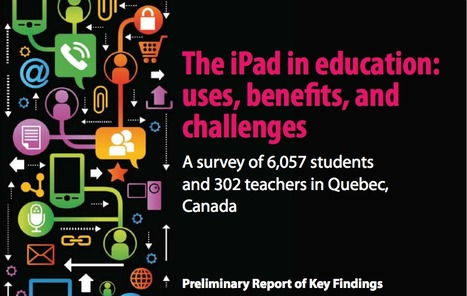 The iPad in Education: Uses, Benefits and Challenges | mrpbps iDevices | Scoop.it