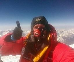 British explorer Daniel Hughes makes first smartphone video call from Everest's peak | COVINET | Scoop.it