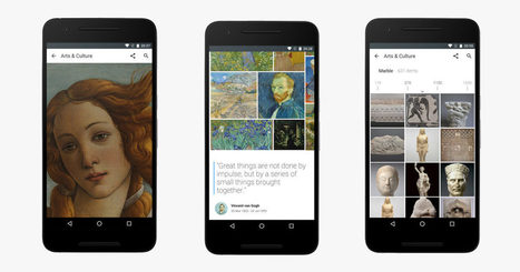 Google's New App Brings Hundreds of Museums to Your Phone | mlearn | Scoop.it