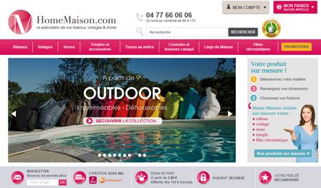[Voilage brise bise] Zoom sur le catalogue Homemaison | La décoration par Maison Blog | Scoop.it