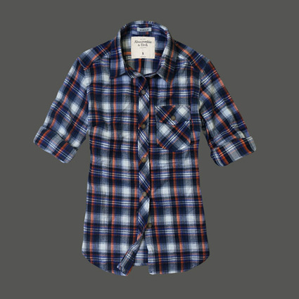 Abercrombie And Fitch Womens Shirts Orange Blue White Ireland Sale | Abercrombie and Fitch Brussel | Scoop.it