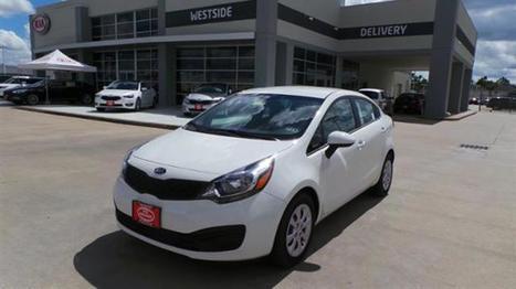 2015 Kia RIO WHITE New Car Details | Stock No: 50246 | Kia New Car Dealership Houston | Chevy Car Dealer | Scoop.it