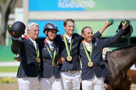 Le cheval, meilleur ami des Bleus à Rio! | Cheval et sport | Scoop.it