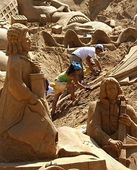 All Type News: Amazing Sand Sculptures Around The World | Latest News | Scoop.it