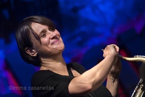 INGRID LAUBROCK QUINTET featuring TIM BERNE & TOM RAINEY (Jamboree Jazz Club, Barcelona, 11-10-2015) | JAZZ I FOTOGRAFIA | Scoop.it