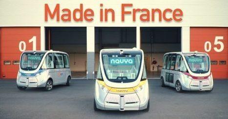 EDF grille la priorité à Google avec 6 navettes autonomes déjà en circulation en France   Sélections de Rondement Carré sur                                                           la créativité,  l'innovation,                    l'accompagnement  du projet et du changement   Scoop.it