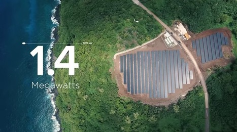 The new Tesla is powering an entire island with solar energy | Miscellaneous news items | Scoop.it