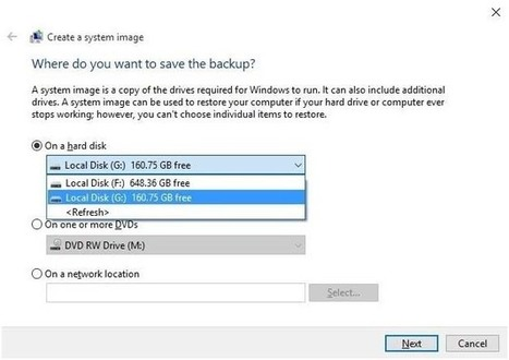 Simple Steps to Create a Full System Image Backup on Windows 10 - Fix PC Errors | Fix PC Error | Scoop.it