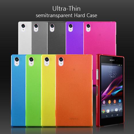 0.3mm Ultra-Thin Matte Sony Xperia Z1 Hard Case | Sony Xperia Z1 Z2 Z1C Cover Case | Scoop.it