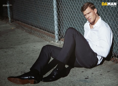 Alan Ritchson cover boy per DaMan - JHP by Jimi Paradise ™ | QUEERWORLD! | Scoop.it