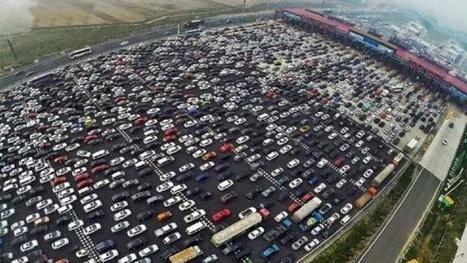 Chine : ce qui se passe quand la moitié du pays est de retour de vacances  @Kiergaard35 | 694028 | Scoop.it