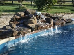 WHAT KIND OF WATER FEATURES CAN BE INSTALLED WITH FIBERGLASS POOLS? | American Fiberglass swimming Pools | Scoop.it