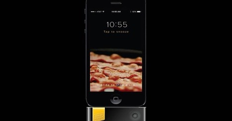 Bacon-Scented Alarm App Gives iPhones a Meaty Overhaul | In Today's News of the Weird | Scoop.it