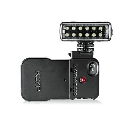 Manfrotto creates 'Klyp' case for adding lighting and tripods to the iPhone: Digital Photography Review   Ken's Odds & Ends   Scoop.it